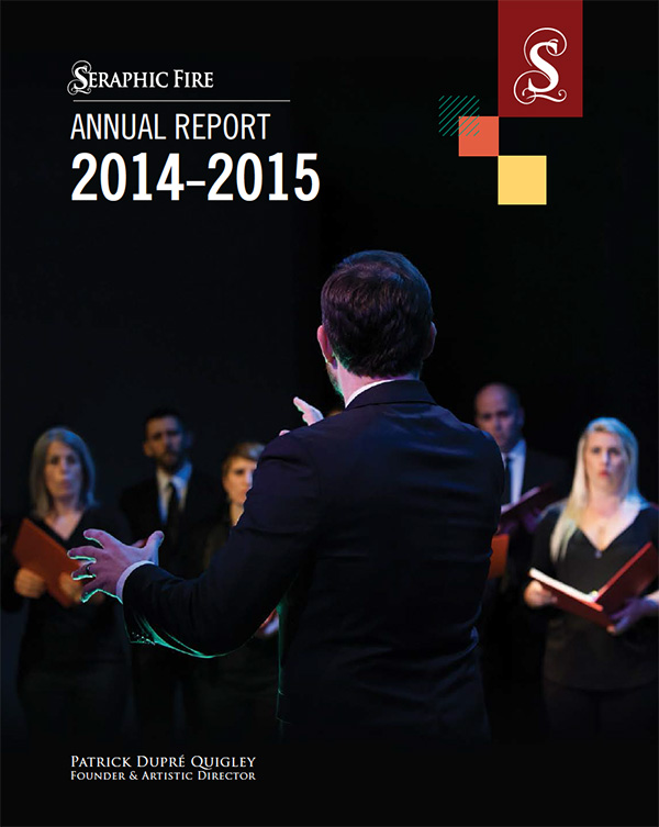 Seraphic Fire - Annual Report 2014-2015