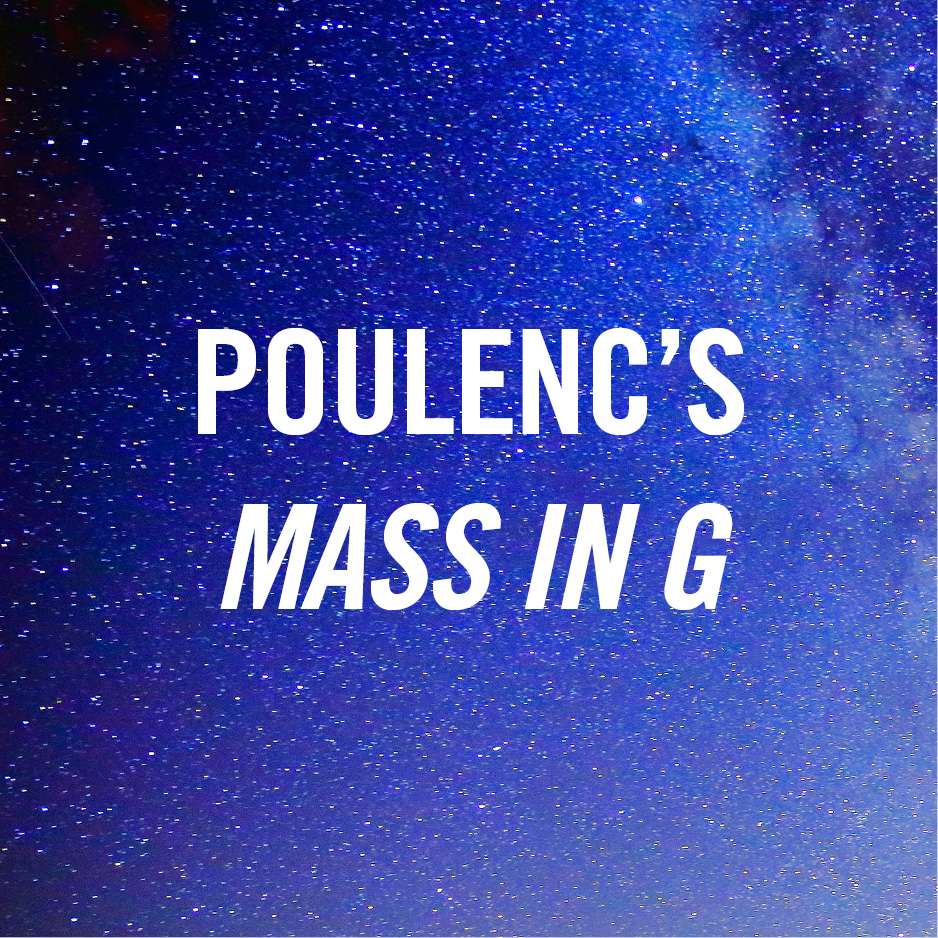 Poulenc's Mass in G