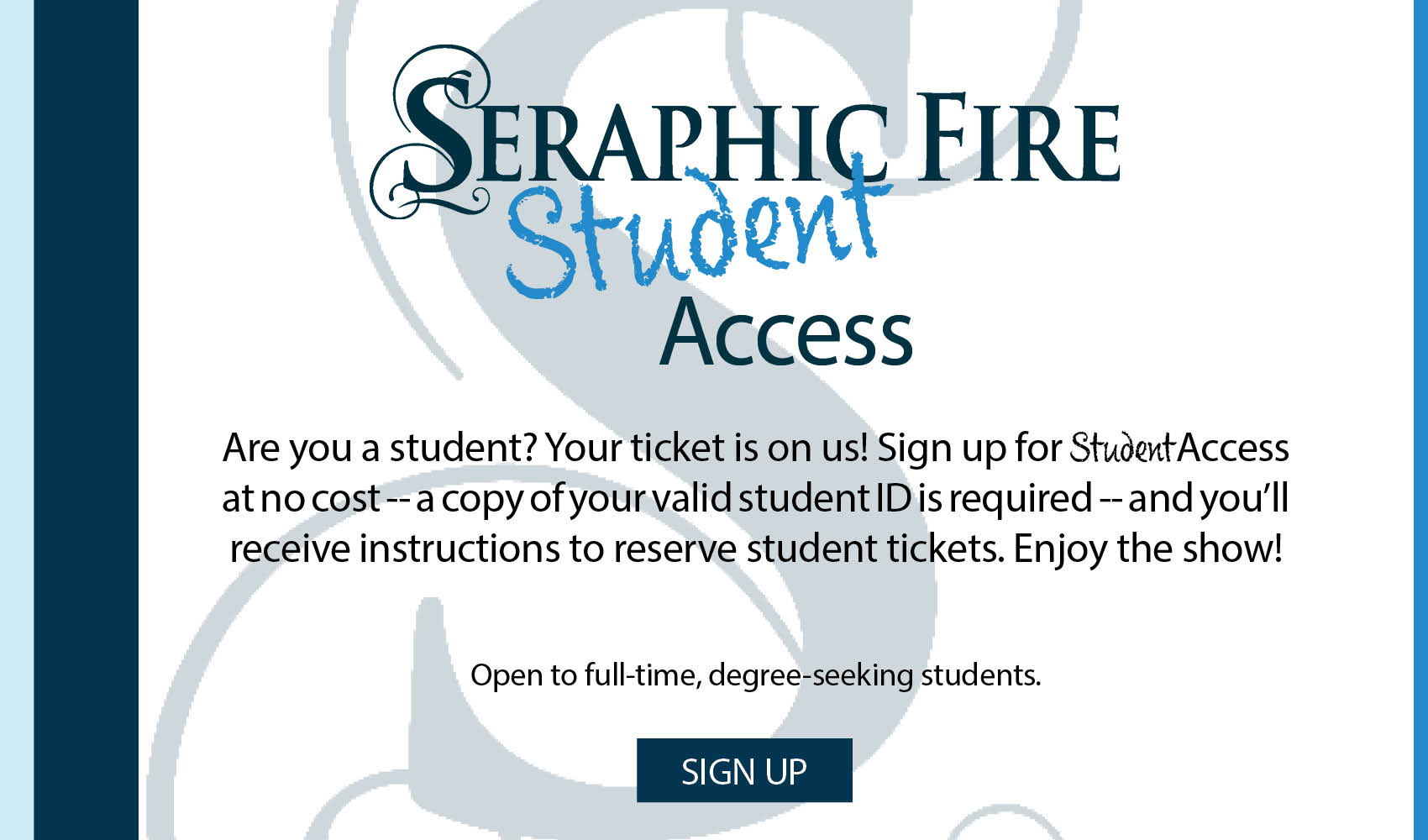 Student Access Web Banner
